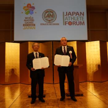 大会組織委員会とアスリートネットワーク&日本アスリート会議との連携協定を締結