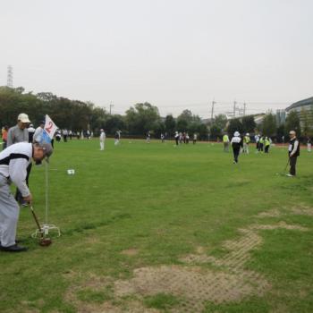 【終了しました】11/3「TSUNAGUプログラム」京都市体育振興会連合会創立65周年記念・第30回市民スポーツフェスティバル「グラウンド・ゴルフ大会」