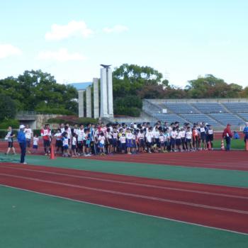【終了しました】11/3「TSUNAGUプログラム」京都市体育振興会連合会創立65周年記念・第30回市民スポーツフェスティバル「ジョギング大会」