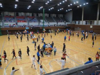 【終了しました】11/3「TSUNAGUプログラム」京都市体育振興会連合会創立65周年記念・第30回市民スポーツフェスティバル「ソフトバレーボール大会」