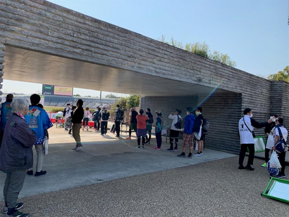 おんらいん京都マラソン2021ランニングイベントにおいて,ワールドマスターズゲームズ2021関西のPRを行いました!