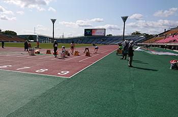 「ワールドマスターズゲームズ2021関西」プレイベントマスターズ陸上競技 京都大会を開催しました!イメージ